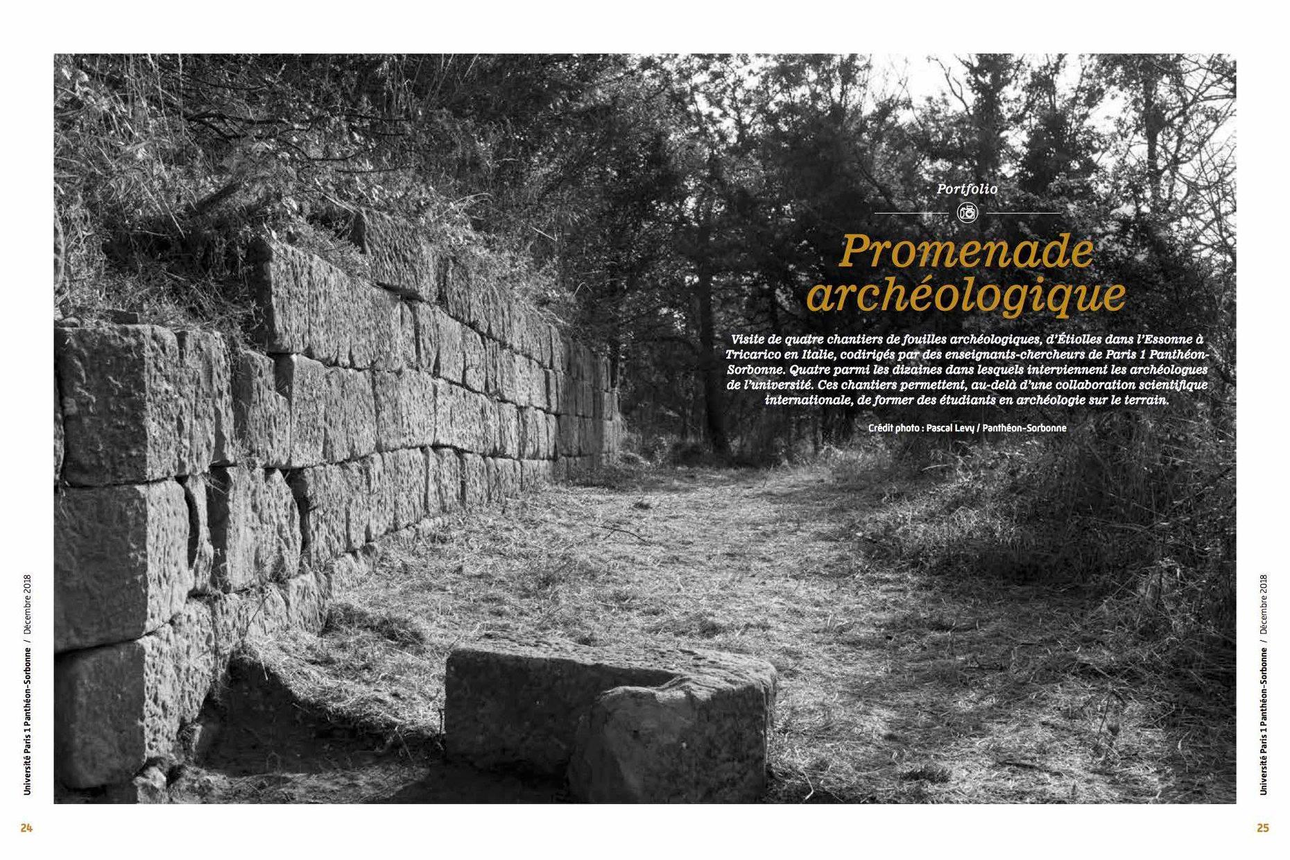 Promenade Archéologique avec Pascal Levy